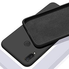 Ultra-thin Silicone Gel Soft Case 360 Degrees Cover for Xiaomi Redmi 7 Black