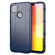 Ultra-thin Silicone Gel Soft Case 360 Degrees Cover for Xiaomi Redmi 9C Blue