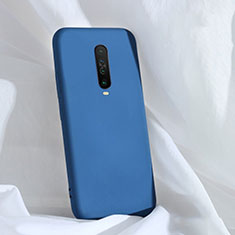 Ultra-thin Silicone Gel Soft Case 360 Degrees Cover for Xiaomi Redmi K30 5G Blue