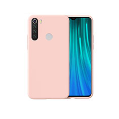 Ultra-thin Silicone Gel Soft Case 360 Degrees Cover for Xiaomi Redmi Note 8 Pink