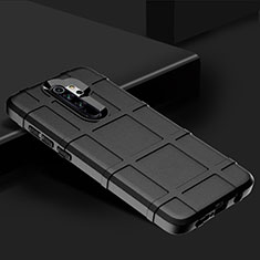 Ultra-thin Silicone Gel Soft Case 360 Degrees Cover for Xiaomi Redmi Note 8 Pro Black