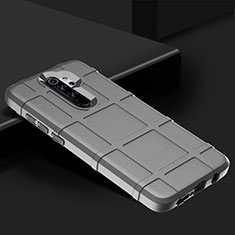 Ultra-thin Silicone Gel Soft Case 360 Degrees Cover for Xiaomi Redmi Note 8 Pro Silver