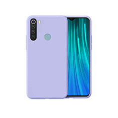 Ultra-thin Silicone Gel Soft Case 360 Degrees Cover for Xiaomi Redmi Note 8 Purple