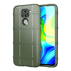 Ultra-thin Silicone Gel Soft Case 360 Degrees Cover for Xiaomi Redmi Note 9 Green