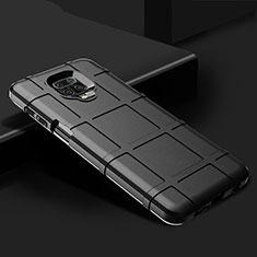 Ultra-thin Silicone Gel Soft Case 360 Degrees Cover for Xiaomi Redmi Note 9 Pro Black