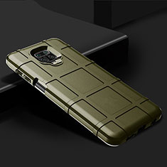 Ultra-thin Silicone Gel Soft Case 360 Degrees Cover for Xiaomi Redmi Note 9 Pro Green