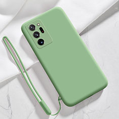 Ultra-thin Silicone Gel Soft Case 360 Degrees Cover N03 for Samsung Galaxy Note 20 Ultra 5G Matcha Green