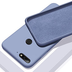 Ultra-thin Silicone Gel Soft Case 360 Degrees Cover S01 for Huawei Enjoy 8e Blue