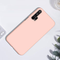 Ultra-thin Silicone Gel Soft Case 360 Degrees Cover S01 for Huawei Honor 20 Pro Rose Gold