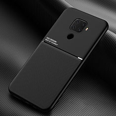 Ultra-thin Silicone Gel Soft Case 360 Degrees Cover S01 for Huawei Mate 30 Lite Black