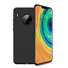 Ultra-thin Silicone Gel Soft Case 360 Degrees Cover S01 for Huawei Mate 30 Pro 5G Black