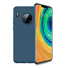 Ultra-thin Silicone Gel Soft Case 360 Degrees Cover S01 for Huawei Mate 30 Pro 5G Blue