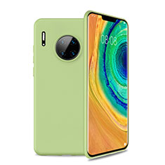 Ultra-thin Silicone Gel Soft Case 360 Degrees Cover S01 for Huawei Mate 30 Pro 5G Green