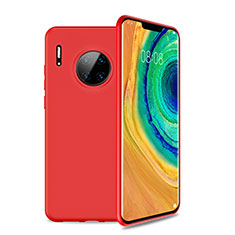 Ultra-thin Silicone Gel Soft Case 360 Degrees Cover S01 for Huawei Mate 30 Pro 5G Red