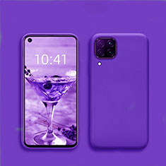 Ultra-thin Silicone Gel Soft Case 360 Degrees Cover S01 for Huawei P40 Lite Blue