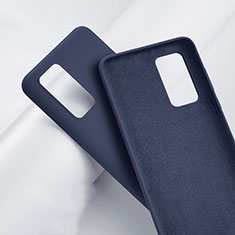 Ultra-thin Silicone Gel Soft Case 360 Degrees Cover S01 for Huawei P40 Pro Blue