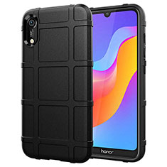 Ultra-thin Silicone Gel Soft Case 360 Degrees Cover S01 for Huawei Y6 Prime (2019) Black