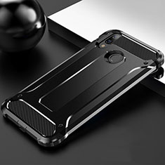 Ultra-thin Silicone Gel Soft Case 360 Degrees Cover S01 for Huawei Y9 (2019) Black