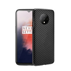 Ultra-thin Silicone Gel Soft Case 360 Degrees Cover S01 for OnePlus 7T Dark Gray