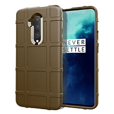Ultra-thin Silicone Gel Soft Case 360 Degrees Cover S01 for OnePlus 7T Pro Brown