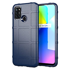 Ultra-thin Silicone Gel Soft Case 360 Degrees Cover S01 for Realme 7i Blue