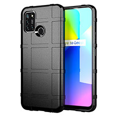 Ultra-thin Silicone Gel Soft Case 360 Degrees Cover S01 for Realme C17 Black