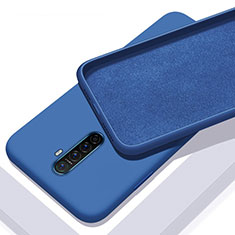 Ultra-thin Silicone Gel Soft Case 360 Degrees Cover S01 for Realme X2 Pro Blue