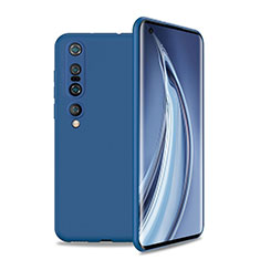 Ultra-thin Silicone Gel Soft Case 360 Degrees Cover S01 for Xiaomi Mi 10 Pro Blue