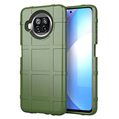 Ultra-thin Silicone Gel Soft Case 360 Degrees Cover S01 for Xiaomi Mi 10i 5G Army green
