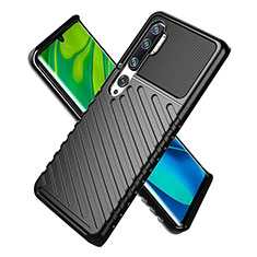 Ultra-thin Silicone Gel Soft Case 360 Degrees Cover S01 for Xiaomi Mi Note 10 Black