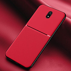 Ultra-thin Silicone Gel Soft Case 360 Degrees Cover S01 for Xiaomi Redmi 8A Red