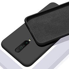 Ultra-thin Silicone Gel Soft Case 360 Degrees Cover S01 for Xiaomi Redmi K30 5G Black