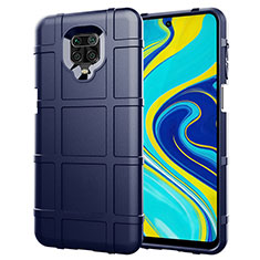 Ultra-thin Silicone Gel Soft Case 360 Degrees Cover S01 for Xiaomi Redmi Note 9 Pro Blue