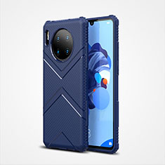 Ultra-thin Silicone Gel Soft Case 360 Degrees Cover S02 for Huawei Mate 30 Pro 5G Blue
