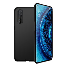 Ultra-thin Silicone Gel Soft Case 360 Degrees Cover S02 for Oppo Find X2 Black