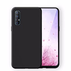 Ultra-thin Silicone Gel Soft Case 360 Degrees Cover S02 for Oppo Find X2 Neo Black