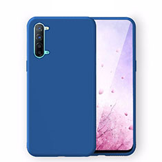 Ultra-thin Silicone Gel Soft Case 360 Degrees Cover S02 for Oppo K7 5G Blue