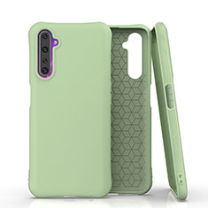 Ultra-thin Silicone Gel Soft Case 360 Degrees Cover S02 for Realme 6 Pro Green