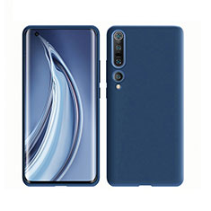 Ultra-thin Silicone Gel Soft Case 360 Degrees Cover S02 for Xiaomi Mi 10 Pro Blue