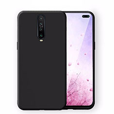 Ultra-thin Silicone Gel Soft Case 360 Degrees Cover S02 for Xiaomi Redmi K30 4G Black