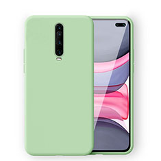 Ultra-thin Silicone Gel Soft Case 360 Degrees Cover S02 for Xiaomi Redmi K30 5G Green