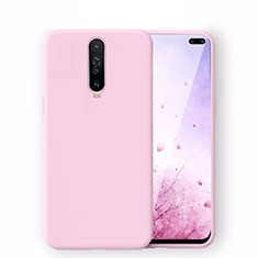 Ultra-thin Silicone Gel Soft Case 360 Degrees Cover S02 for Xiaomi Redmi K30 5G Pink