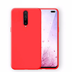 Ultra-thin Silicone Gel Soft Case 360 Degrees Cover S02 for Xiaomi Redmi K30 5G Red