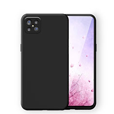 Ultra-thin Silicone Gel Soft Case 360 Degrees Cover S03 for Oppo Reno4 Z 5G Black
