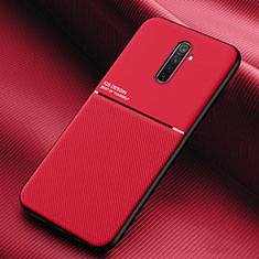 Ultra-thin Silicone Gel Soft Case 360 Degrees Cover S03 for Realme X2 Pro Red