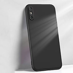 Ultra-thin Silicone Gel Soft Case 360 Degrees Cover S04 for Huawei Enjoy 10e Black