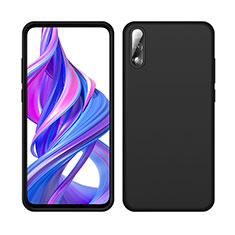 Ultra-thin Silicone Gel Soft Case 360 Degrees Cover S04 for Huawei Honor 9X Black