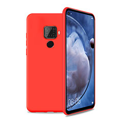 Ultra-thin Silicone Gel Soft Case 360 Degrees Cover S04 for Huawei Mate 30 Lite Red