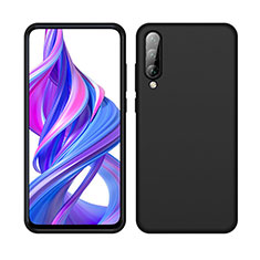 Ultra-thin Silicone Gel Soft Case 360 Degrees Cover S05 for Huawei Y9s Black