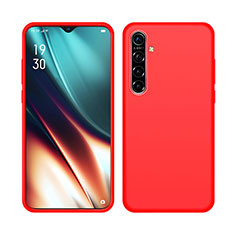Ultra-thin Silicone Gel Soft Case 360 Degrees Cover S05 for Realme X2 Red